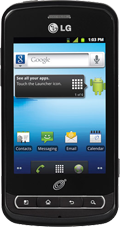 LG Optimus Q Black