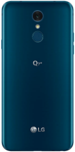 LG Q7 Plus Blue