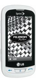 LG Rumor Reflex White