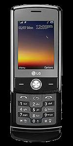 LG Shine CU720 Black