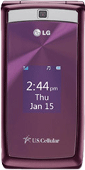 LG UX280 Red