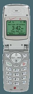 LG VX3100 Silver