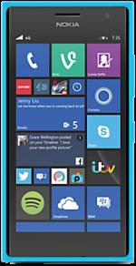 Microsoft Lumia 735 Blue