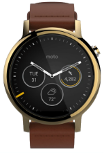 Moto 360 (2nd Gen) 46mm Gold