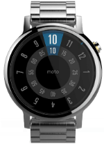 Moto 360 (2nd Gen) 46mm Silver