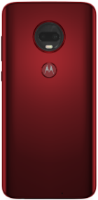 Moto G7 Plus Red