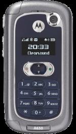 Motorola A630 Gray