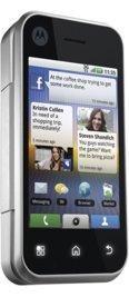 Motorola Backflip Silver