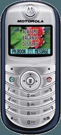 Motorola C139 Silver