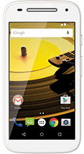 Motorola Moto E (2nd Gen) White
