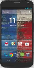 Motorola Moto X Blue