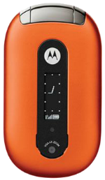 Motorola PEBL Orange