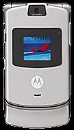 Motorola Razr V3 Silver