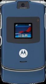 Motorola RAZR V3m Blue