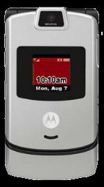 Motorola RAZR V3m Silver