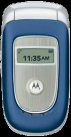Motorola V195 Blue