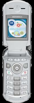 Motorola V260 Silver