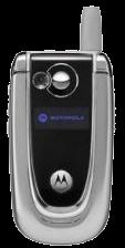 Motorola V600 Silver
