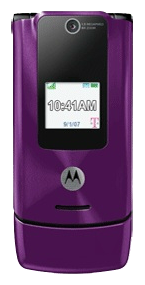 Motorola W490 Purple