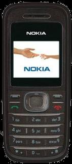 Nokia 1208 Black
