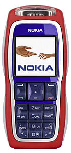 Nokia 3220 Red