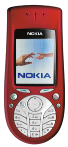 Nokia 3660 Red