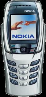 Nokia 6800 Silver