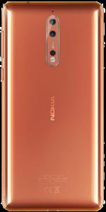 Nokia 8 Rose