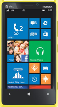 Nokia Lumia 928 Yellow