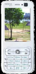 Nokia N73 White