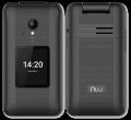 NUU F4L Flip Phone Black