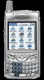 Palm Treo 650 Silver
