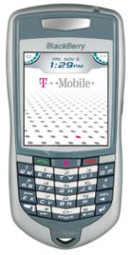 RIM BlackBerry 7100t Silver