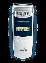 Samsung A580 Blue