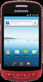 Samsung Admire Red