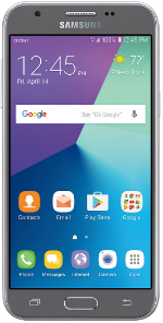 Samsung Galaxy Amp Prime 2 Silver