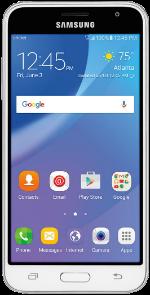 Samsung Galaxy Amp Prime White