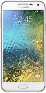 Samsung Galaxy E5 White