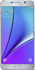 Samsung Galaxy Note 5 Silver