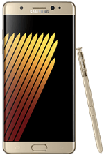 Samsung Galaxy Note7 Gold