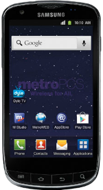 Samsung Galaxy S Lightray 4G Black