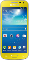 Samsung Galaxy S4 Mini Yellow