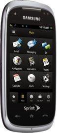 Samsung Instinct HD Black