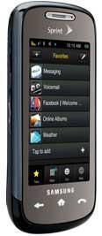 Samsung Instinct S30 Black