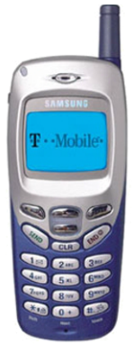 Samsung R225m Blue