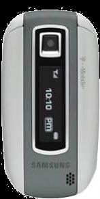 Samsung Stripe T329 White