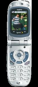 Sanyo SCP-3100 Silver