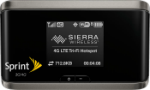 Sierra Wireless 4G LTE Tri-Fi Hotspot Black