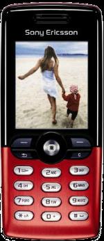 Sony Ericsson T610 Red