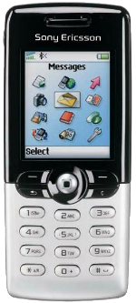 Sony Ericsson T610 White
